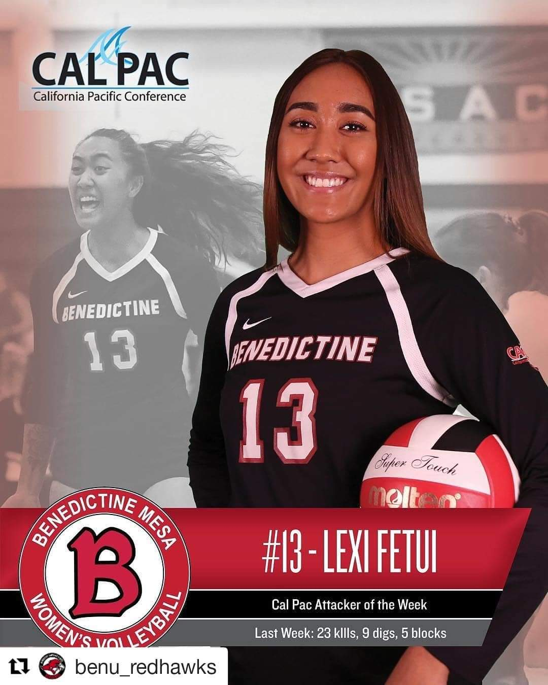 Dear Volleyball interviews Alexis Fetui, Former Mojave Rattler, Who's Making Waves in the NAIA Postseason. Daniel Velazquez Wilson.