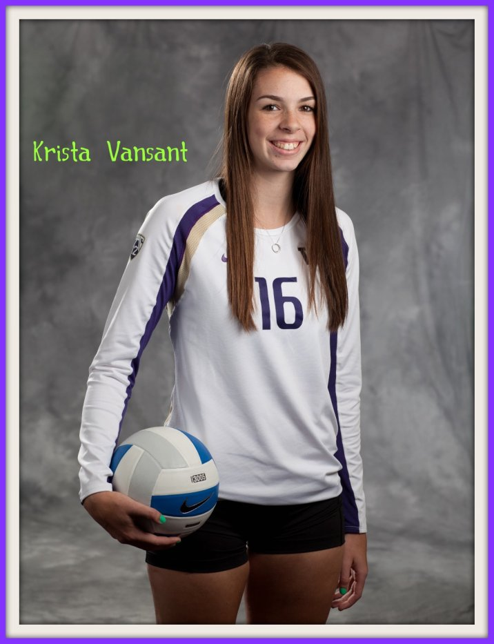 Krista Vansant and other famous players on DearVolleyball.com