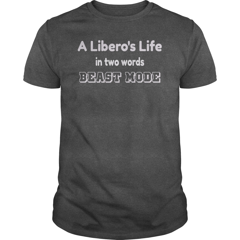 A liberos life in two words and other volleyball and other volleyball t shirt ideas by Volleybragswag