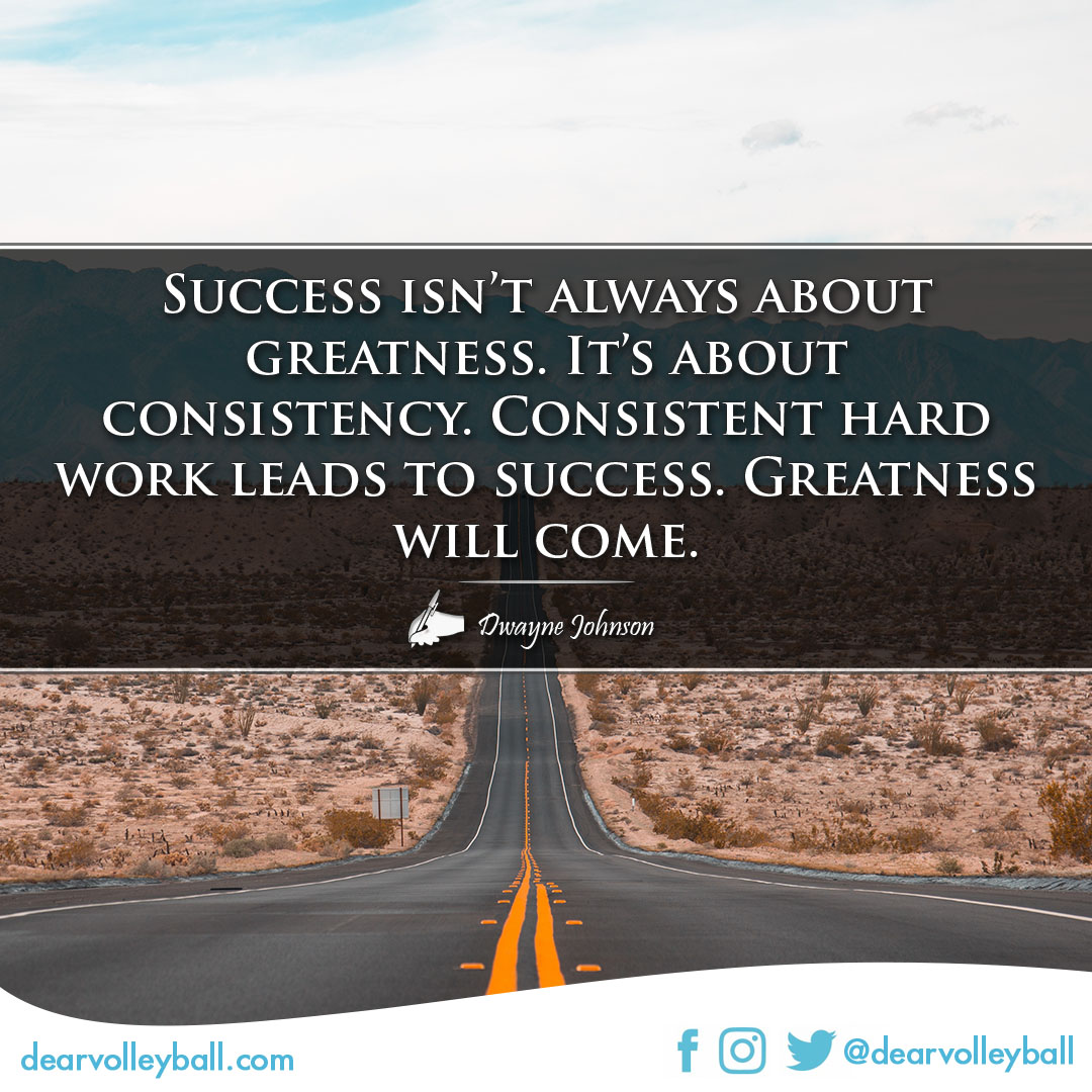 Success quotes on DearVolleyball.com
