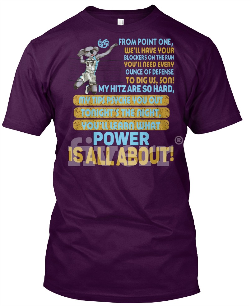 From Point One...and more volleyball slogans for volleyball hitters by Volleybragswag on DearVolleyball.com