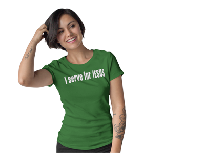 I serve for Jesus and other volleyball and other volleyball t shirt ideas by Volleybragswag