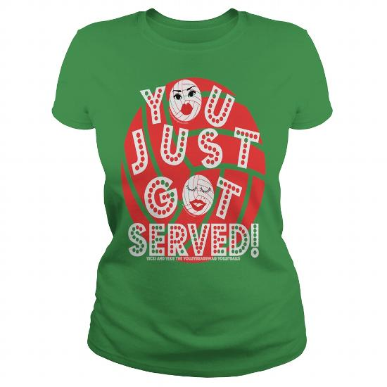 you just got served volleybragswag volleyball sayings tshirt