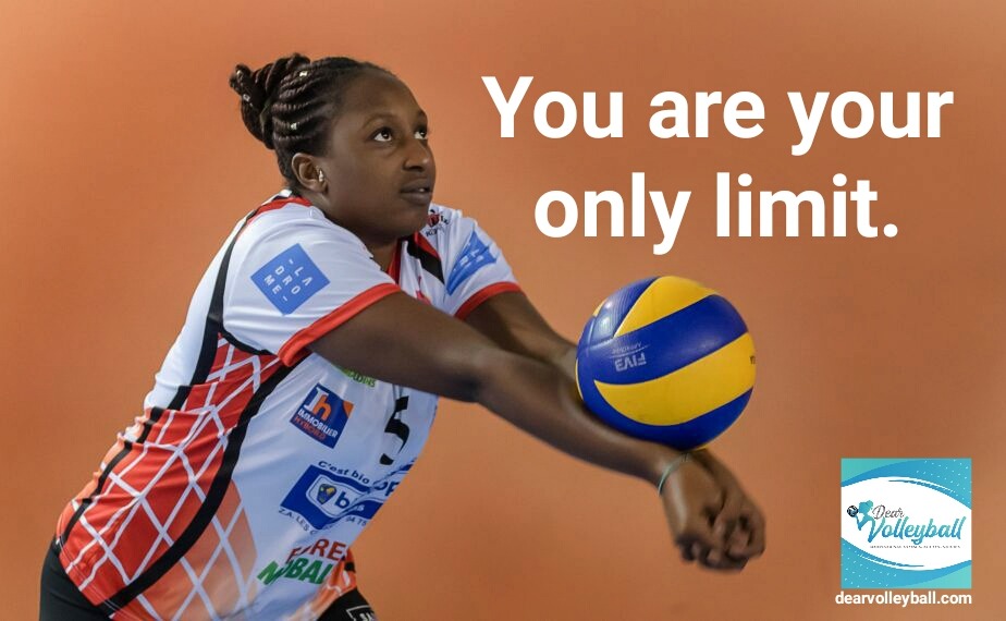 You are your only limit and 54 short inspirational quotes on DearVolleyball.com