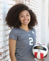 Mariah Morris NMMI volleyball player