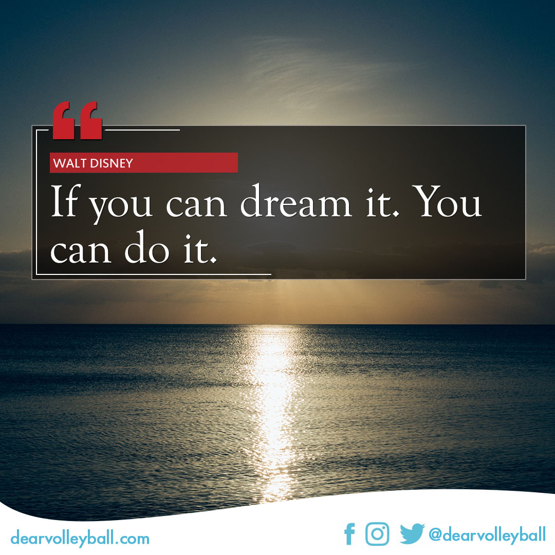 'If you can dream it you can do it