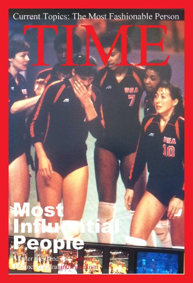 The 1984 USA Volleyball Women's Olympians and other  Inspiring female volleyball players quotes, stories and interviews on DearVolleyball.com
